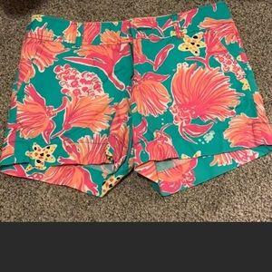 Lilly Pulitzer SZ 0 Callahan Shorts